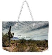 Morning In The Desert Weekender Tote Bag