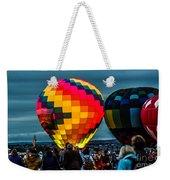 Morning Inflation Weekender Tote Bag