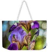 Morning Iris Weekender Tote Bag