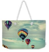 Morning Lift Off  Two Weekender Tote Bag
