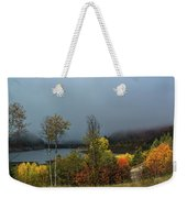 Morning Light And Fog Weekender Tote Bag