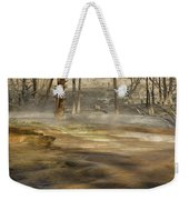 Morning Light On  Mammoth Terrace Weekender Tote Bag
