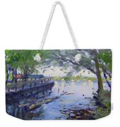 Morning Light By The River Weekender Tote Bag