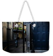 Morning Light In The French Quarter Weekender Tote Bag