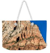 Morning Light In Zion Canyon Weekender Tote Bag
