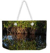 Morning Light Mangrove Reflection Weekender Tote Bag