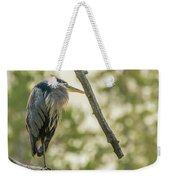 Morning Light On Great Blue Heron Weekender Tote Bag