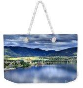 Morning Light On Okanagan Lake Weekender Tote Bag