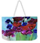 Morning Light Poppies Painting Weekender Tote Bag