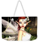 Morning Lily Fairy Weekender Tote Bag