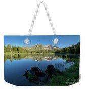 Morning Meditation - Lake Irwin Weekender Tote Bag