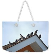 Morning Meet Weekender Tote Bag