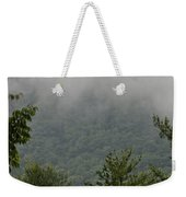 Morning Mist Bluestone State Park West Virginia Weekender Tote Bag