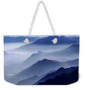 Morning Mist Weekender Tote Bag by Chad Dutson