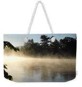 Morning Mist Glowing In Sunlight Weekender Tote Bag