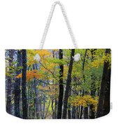 Morning Mist On The Path Weekender Tote Bag