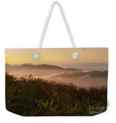 Morning Mist Three Weekender Tote Bag