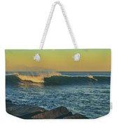 Morning Moonrise Weekender Tote Bag