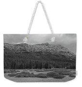 Morning Mountains In Yellowstone Weekender Tote Bag