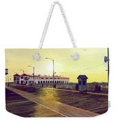 Morning Music Weekender Tote Bag