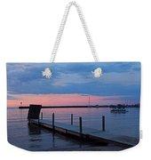 Morning On Lake Huron Weekender Tote Bag