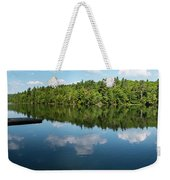 Morning On Lincoln Pond Weekender Tote Bag