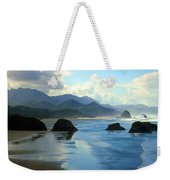 Morning On The Oregon Coast Weekender Tote Bag