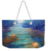Morning On The Stream #3 Weekender Tote Bag