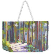 Morning On The Trail Weekender Tote Bag