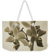 Morning Orchid Weekender Tote Bag by Ben and Raisa Gertsberg