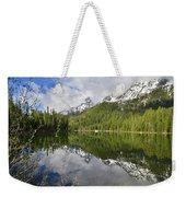 Morning Reflection On String Lake Weekender Tote Bag