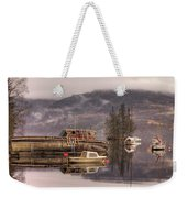 Morning Reflections Of Loch Ness Weekender Tote Bag