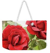 Morning Roses Weekender Tote Bag