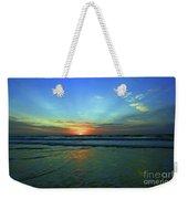 Morning Sea Foam Weekender Tote Bag