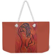 Morning Shower Weekender Tote Bag