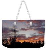 Morning Silhouetted - 1 Weekender Tote Bag
