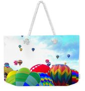 Morning Skies Weekender Tote Bag
