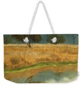 Morning Still Weekender Tote Bag