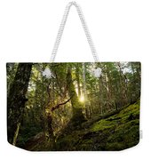 Morning Stroll In The Forest Weekender Tote Bag