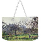 Morning Sun Weekender Tote Bag by Camille Pissarro