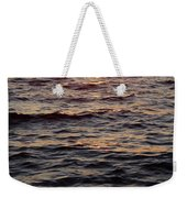 Morning Sun On The Water Weekender Tote Bag