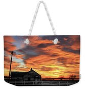 Morning Sunrise 2-14-2011 Weekender Tote Bag