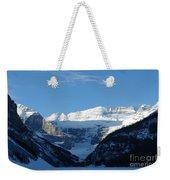 Morning Sunshine Kisses Snowy Peaks Weekender Tote Bag
