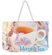 Morning Tea Weekender Tote Bag