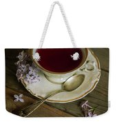 Morning Tea With Lilacs Weekender Tote Bag
