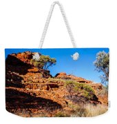 Morning To The Kings Canyon Rim - Northern Territory, Australia Weekender Tote Bag