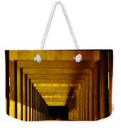 Morning Under The Bridge Weekender Tote Bag