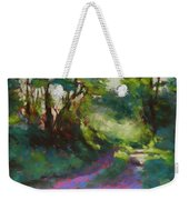 Morning Walk II Weekender Tote Bag