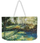 Morning Walk Weekender Tote Bag