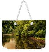 Morning Warmth Williams River  Weekender Tote Bag